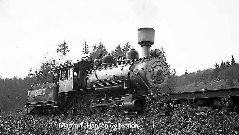 Polson Logging #2 in 1938