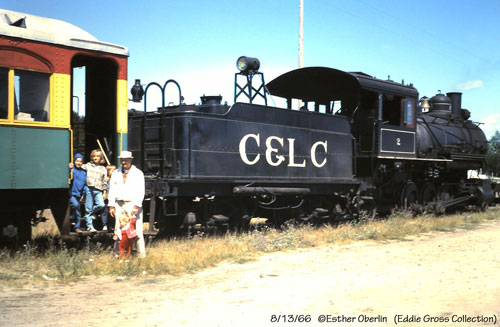 Cadillac & Lake City #2 with passengers posing